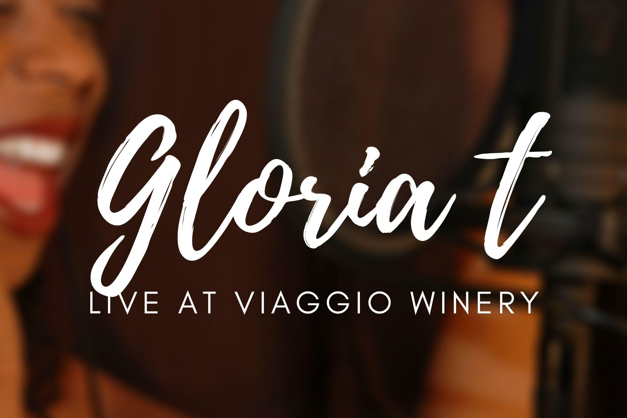 Gloria T performing at Viaggio Winery